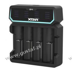 Ładowarka do akumulatorów cylindrycznych Li-ion 18650 Xtar D4 RTV i AGD