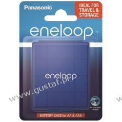 Uniwersalny pojemnik na akumulatorki R6/AA R03/AAA Panasonic eneloop niebieski Zasilanie