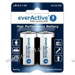 2 x baterie alkaliczne everActive Pro LR14 / C (blister) Zasilanie