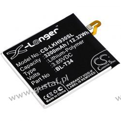 LG V30 / BL-T34 3200mAh 12.32Wh Li-Polymer 3.85V (Cameron Sino) Akcesoria GSM