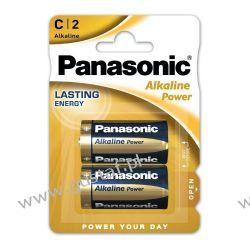 2 x Panasonic Alkaline Power LR14 / C (blister) Zasilanie