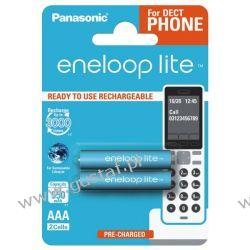2 x Panasonic Eneloop Lite R03/AAA 550mAh BK-4LCCE/2BE (blister) Akumulatorki