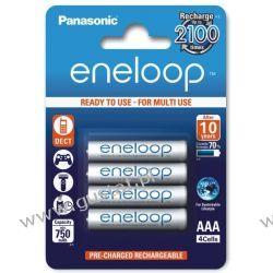 4 x akumulatorki Panasonic Eneloop R03 AAA 800mAh BK-4MCCE/4BE (blister) Akumulatorki