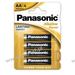 4 x Panasonic Alkaline Power LR6/AA (blister) Baterie