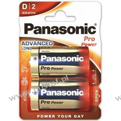 2 x Panasonic Alkaline PRO Power LR20/D (blister) Baterie