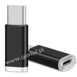 Adapter / przejściówka micro USB - USB-C / Typ-C 3.1 Telefony i Akcesoria