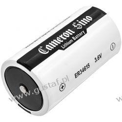 ER34615 19000mAh 68.40Wh Li-SOCl2 3.6V (Cameron Sino) RTV i AGD