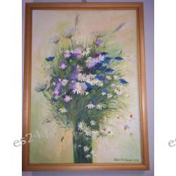 """OBRAZ """"Polne kwiaty"""" 70/50"""