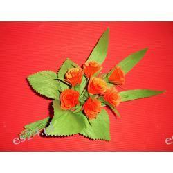 Bukiet kwiatków- bibuła