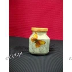 mały szklany słoiczek