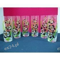 szklanki - malowane