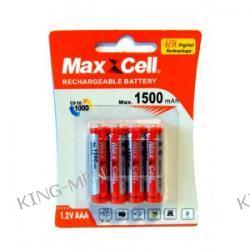 Akumulatorki / baterie AAA 1500 mAh