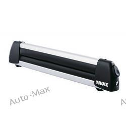 Thule Deluxe, aluminiowy uchwyt na 3 pary nart 740