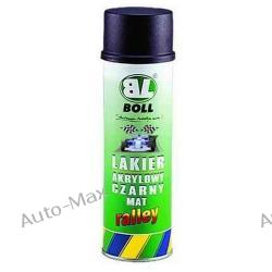 Boll - Lakier akrylowy czarny mat 500ml