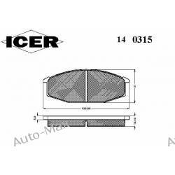 ICER 140315 NISSAN 280C,280ZX,CEDRIC 2.8,FAIRLADY,URVAN