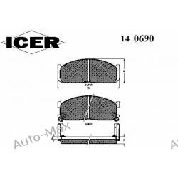 ICER 140690 MAZDA ECONOVAN,E1600-2200,626III-IV