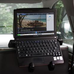 Samochodowy uchwyt na DVD, Netbook lub Tablet