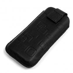 Nowy Pokrowiec na telefon Slim Nokia C7 - czarny