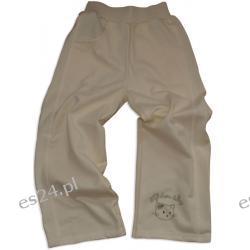 Spodnie dresowe dziewczęce, 100 % bawełna, rozmiar 92