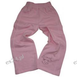 Spodnie dresowe dziewczęce, 100 % bawełna, rozmiar 110