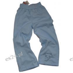 Spodnie dresowe dziewczęce, 100 % bawełna, rozmiar 104