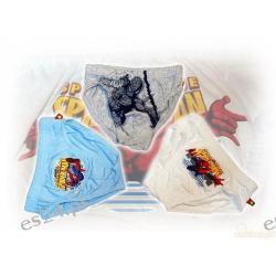 Slipy dziecięce, Majtki chłopięce, 100 % bawełna, z aplikacją Spidermana, rozmiar 116-122