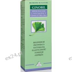 Eliksir krem-balsam z Miłorzębem japońskim - Ginobil