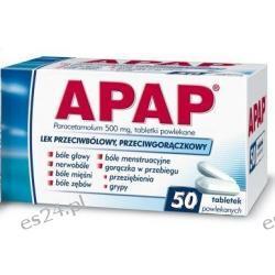 Apap 50 tabletek