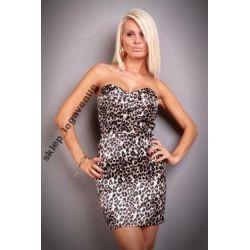 WYPRZEDAŻ sukienka bez ramiączek WESELE  *  M  38