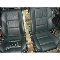 Wnętrze tapicerka fotele skóra BMW5 e61 lift kombi