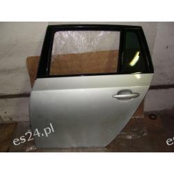BMW E61 seria:5 kombi drzwi tył lewe SREBRNE całe idealne