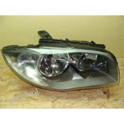 BMW1 E87 prawa przednia kompletna lampa ORYGINAŁ