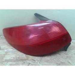 Peugeot 206 lewa lampa tył oryginał Lampy tylne