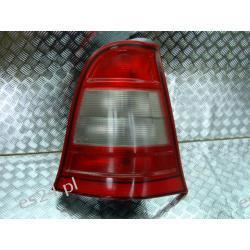 Mercedes A-klasa lift prawa lampa tył biały kierunek Lampy tylne
