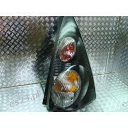 Citroen C1 czarna prawa lampa tył