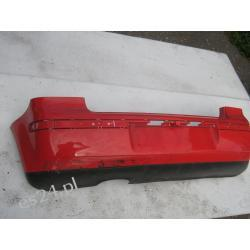 VW Polo 9N zderzak tył czerwony