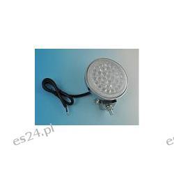 HALOGEN LAMPA LAMPKA 36 LED REFLEKTOR SAMOCHODOWY 12V - CHROM