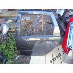 Fiat Punto II 5D LEWE DRZWI TYŁ Drzwi