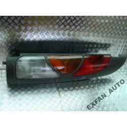Renault Kangoo Prawa kompletna Lampa tył Zderzaki