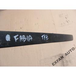 Listwa ozdobna zderzak tylni do Skoda Fabia I HB