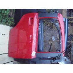 Fiat Panda 5D PRAWE DRZWI TYŁ oryginał czerwone Drzwi