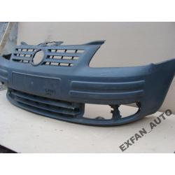 VW Caddy zderzak przód przedni czarny ORYGINAŁ