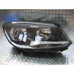 VW Touran prawa lampa przód 2011-