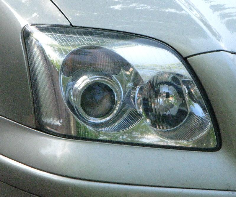 Toyota Avensis Lampa Zwykła Wymiana Soczewki Na Metalowe Na