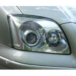 Toyota Avensis - lampa zwykła - wymiana soczewki na metalowe