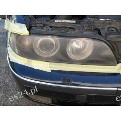 BMW5 e39 lampy przednie regeneracja kloszy polerowanie lamp