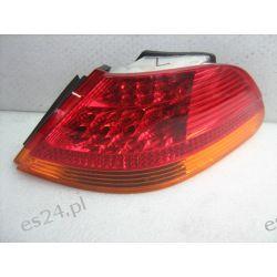 Bmw e65 LED żółty kierunek kompletna prawa lampa tył