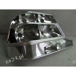 Metalizacja próżniowa - naprawa lampy s-klasa Zderzaki