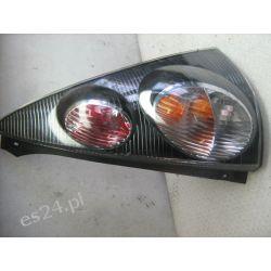 Citroen C1 prawa lampa tył ciemna czarna