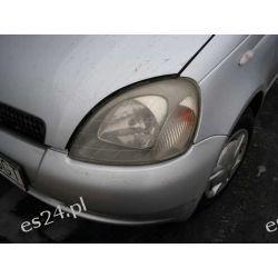 Toyota Yaris naprawa i polerowanie matowych kloszy